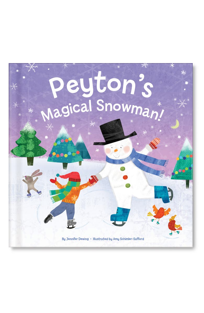 I SEE ME! 'My Magical Snowman' Personalized Storybook, Main, color, MULTI COLOR