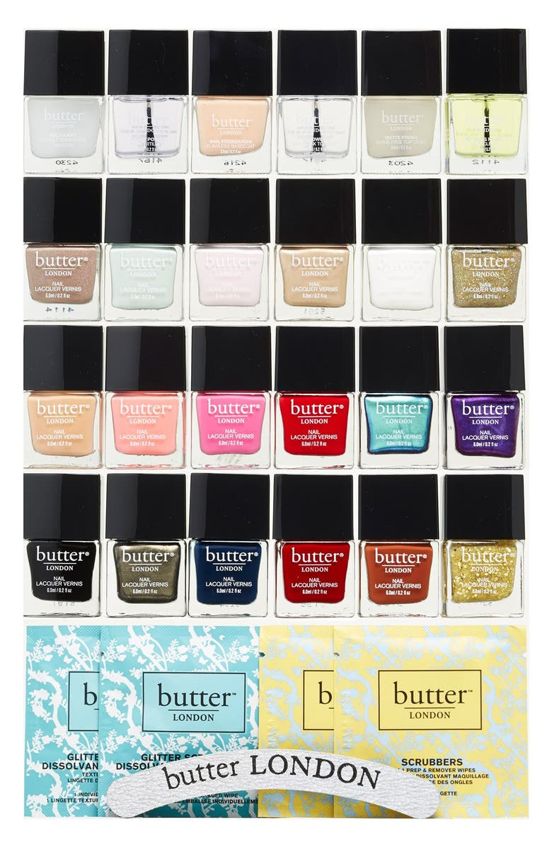 BUTTER LONDON 'The VIP' Set, Main, color, THE VIP