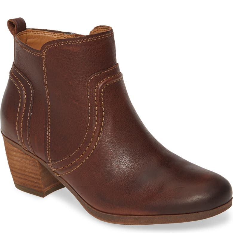 COMFORTIVA Arnon Bootie, Main, color, BRIDLE BROWN LEATHER
