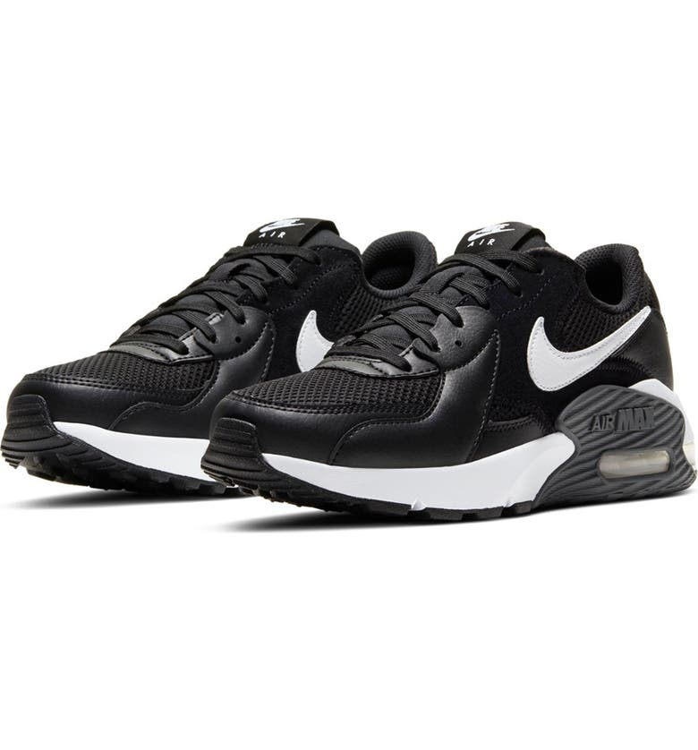 NIKE Air Max Excee Sneaker, Main, color, 003 BLACK/WHITE