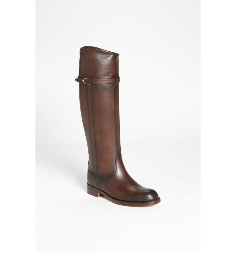 GUCCI Tall Leather Boot, Main, color, 200