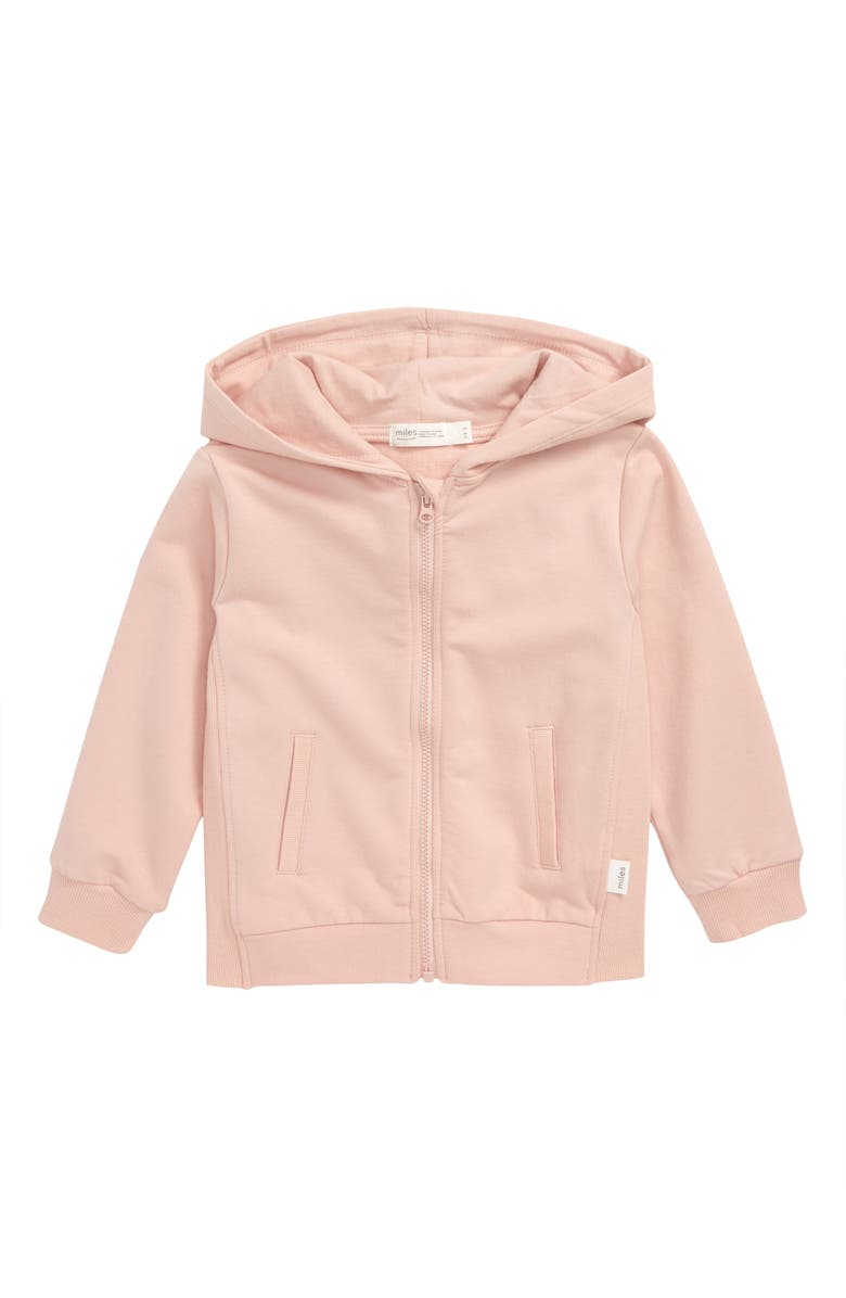MILES baby Organic Cotton Hoodie, Main, color, 680