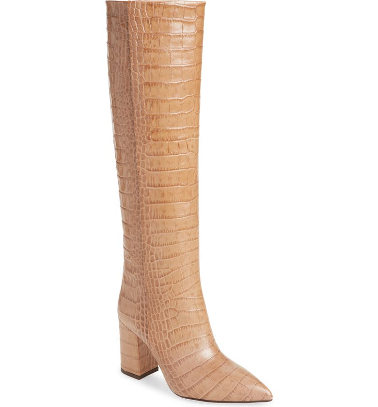 PARIS TEXAS Knee High Boot, Main, color, 250