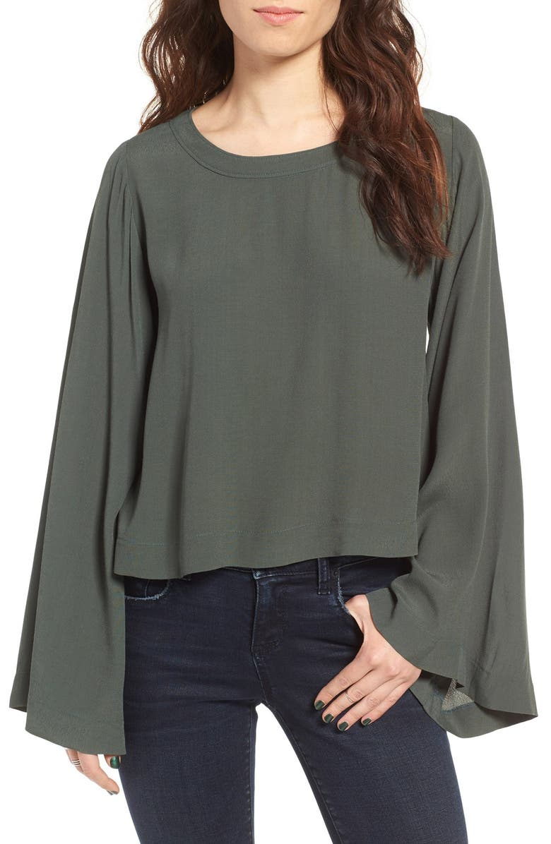 BP. Bell Sleeve Blouse, Main, color, 301