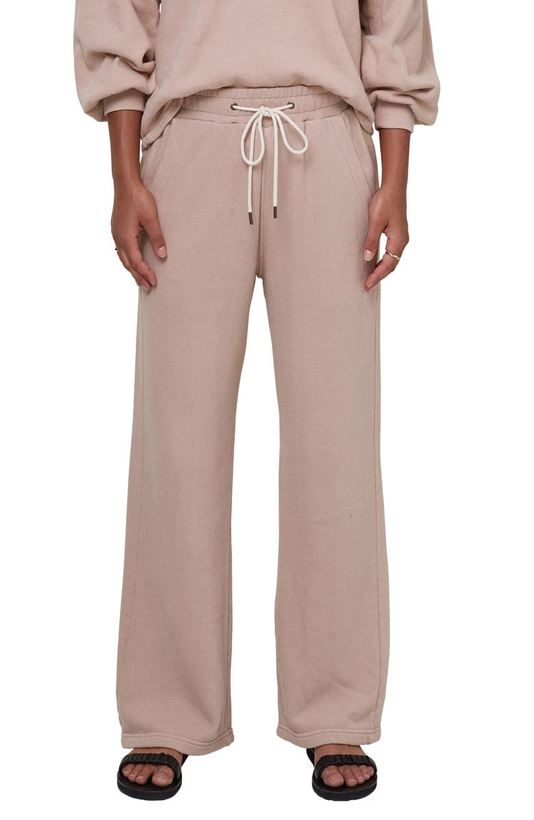 CITIZENS OF HUMANITY Nia Wide Leg Lounge Pants, Main, color, NOUGAT