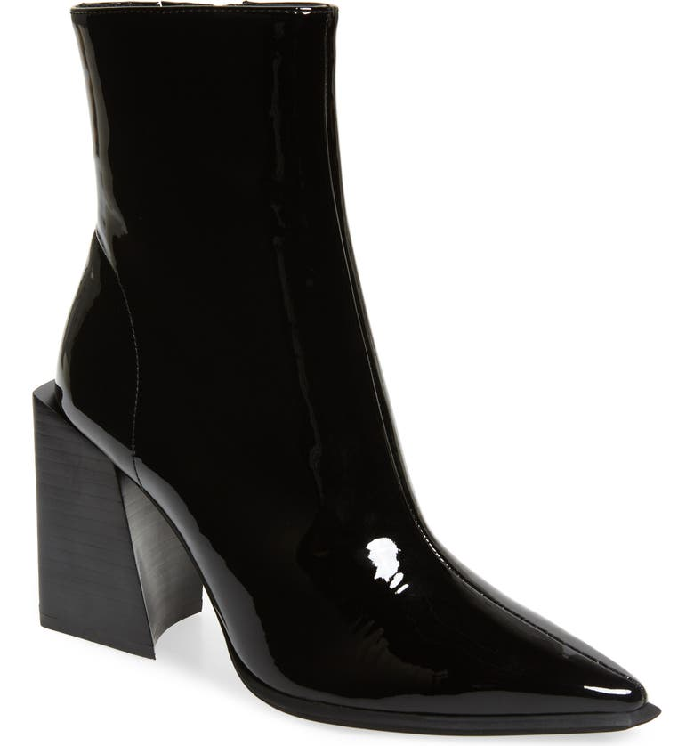 JEFFREY CAMPBELL La-Siren Bootie, Main, color, BLACK PATENT
