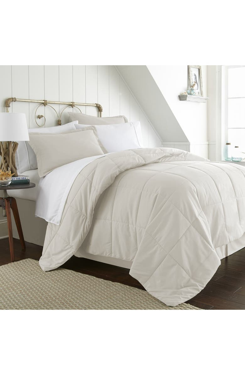 IENJOY HOME Home Spun King Premium Bed In A Bag - Ivory, Main, color, IVORY