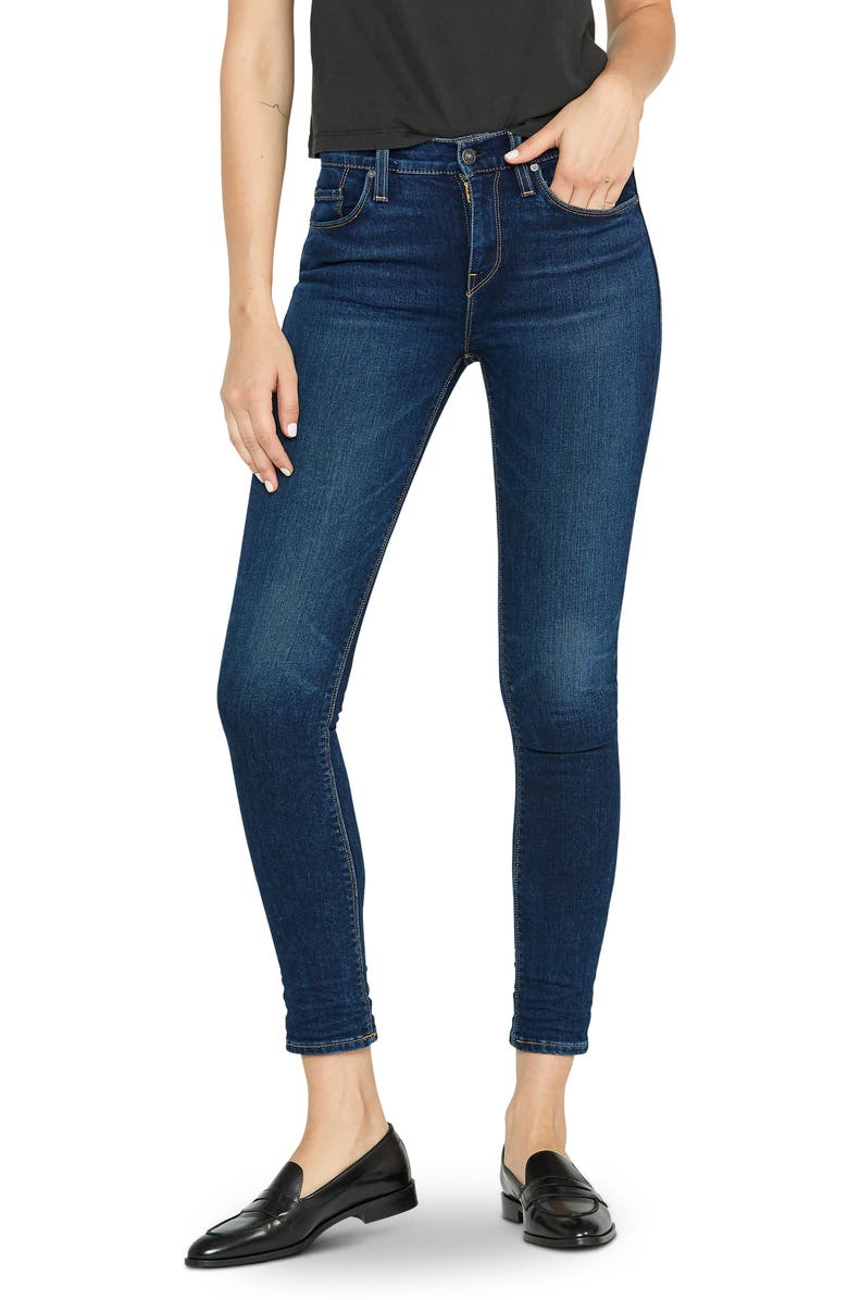 HUDSON JEANS Nico Super Skinny Jeans, Main, color, OBSCURITY
