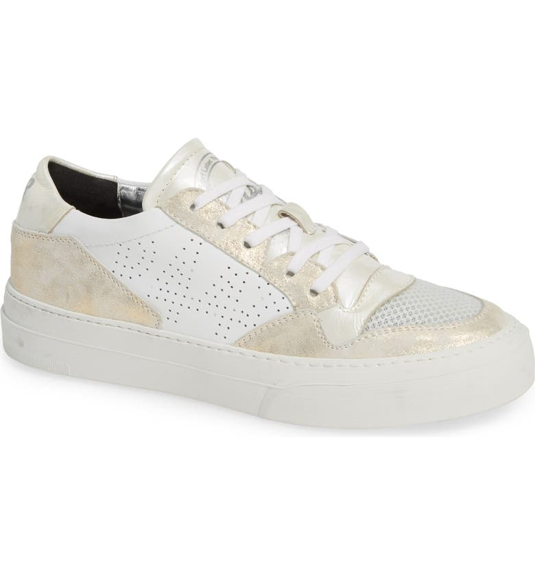 P448 Spacelow Sneaker, Main, color, 100