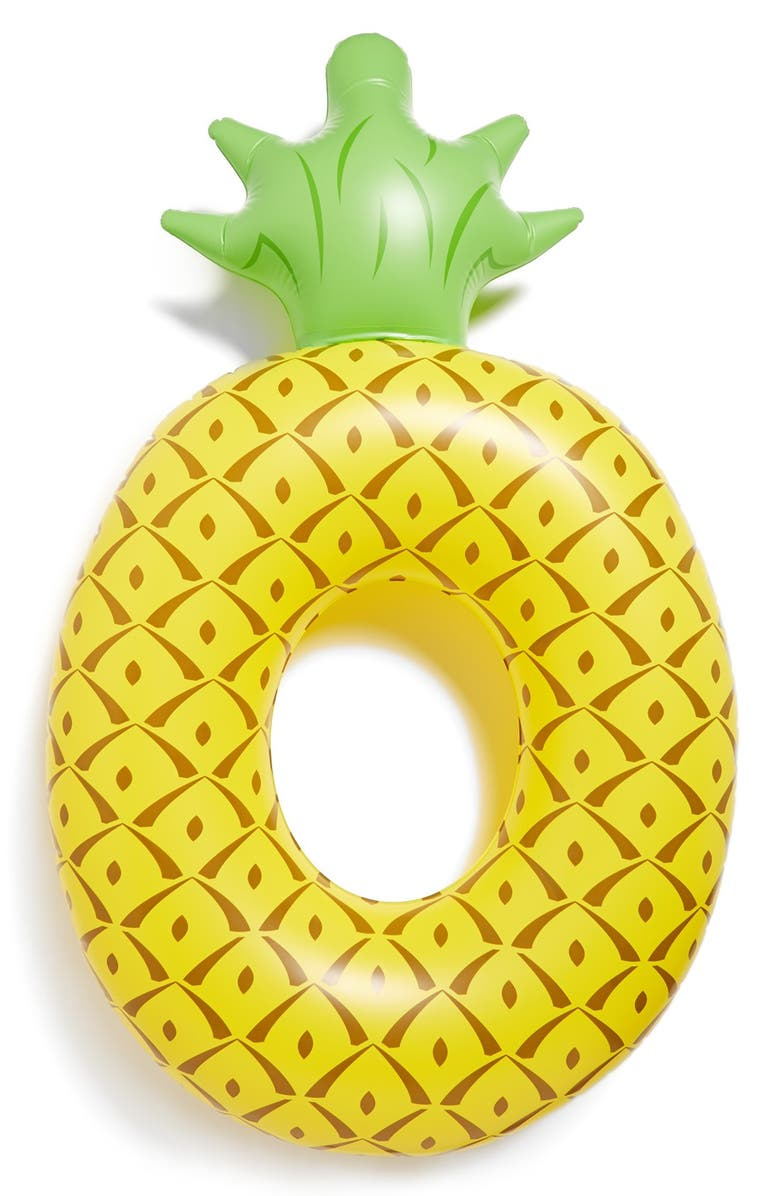 BIGMOUTH INC . Large Pineapple Pool Float, Main, color, MULTI YELLOW