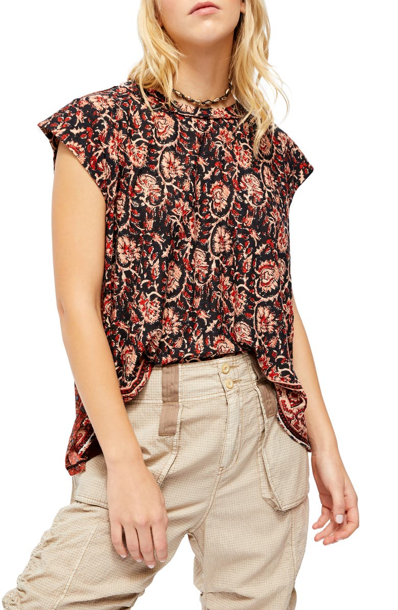 FREE PEOPLE High Tide Top, Main, color, MIDNIGHT COMBO