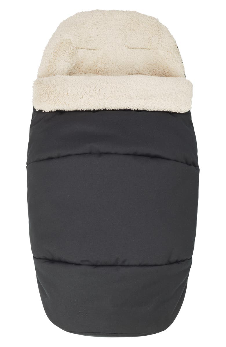 MAXI-COSI<SUP>®</SUP> Universal 2-in-1 Fleece Lined Footmuff, Main, color, ESSENTIAL BLACK