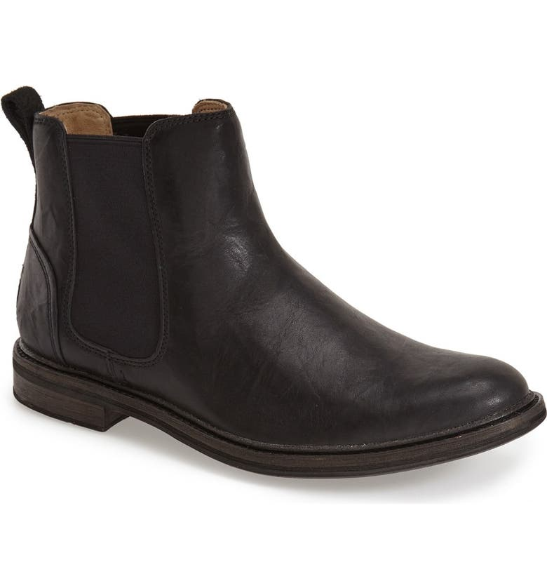 UGG<SUP>®</SUP> 'Leif' Chelsea Boot, Main, color, Black