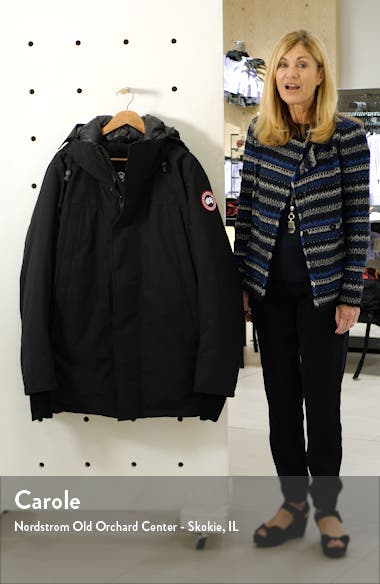 Sanford 625 Fill Power Down Hooded Parka, sales video thumbnail