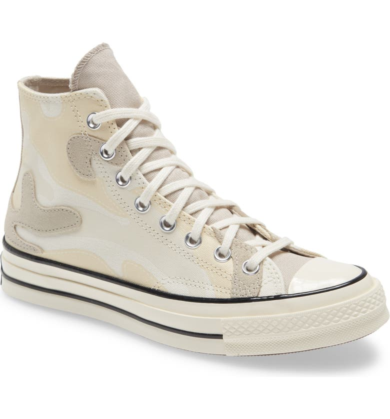 CONVERSE Chuck Taylor<sup>®</sup> All Star<sup>®</sup> 70 High Top Sneaker, Main, color, 100