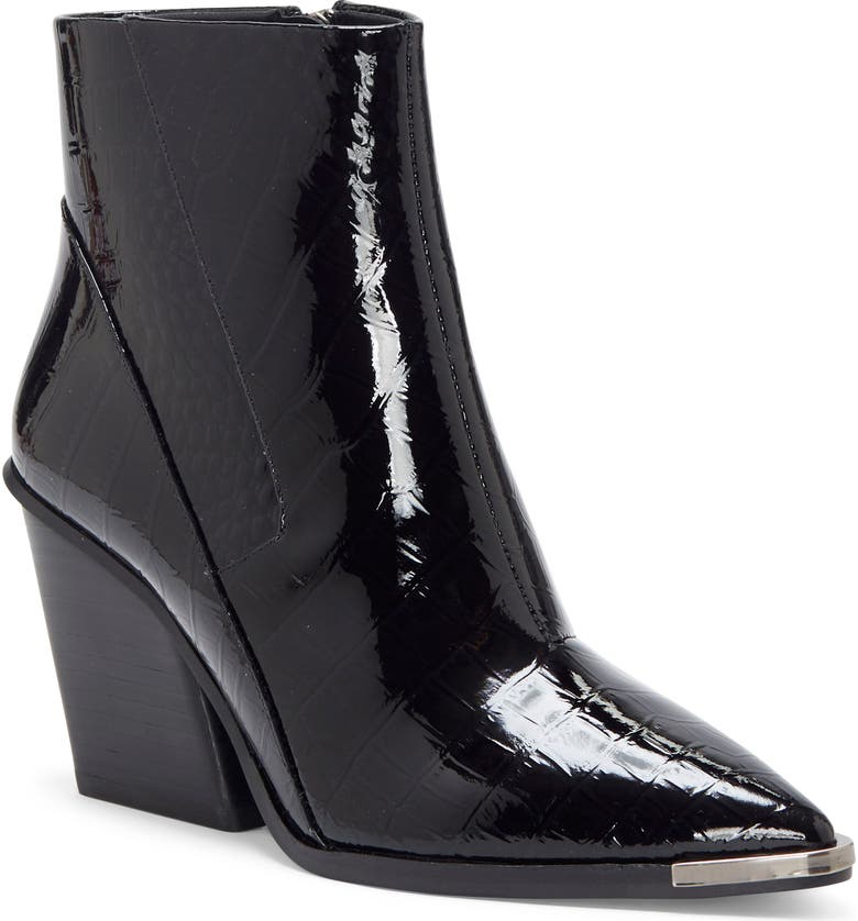 VINCE CAMUTO Anikah Pointy Toe Bootie, Main, color, 002