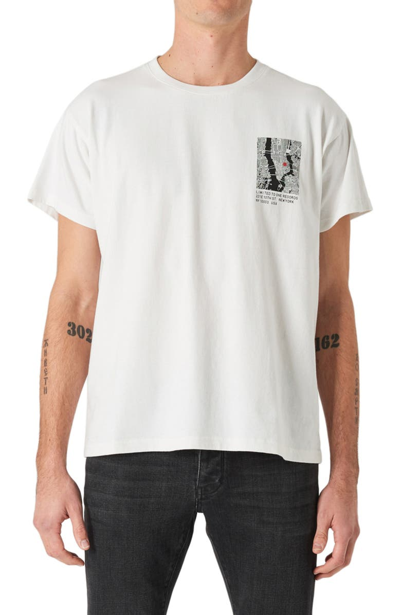 NEUW DENIM Limited Band Graphic Tee, Main, color, 106