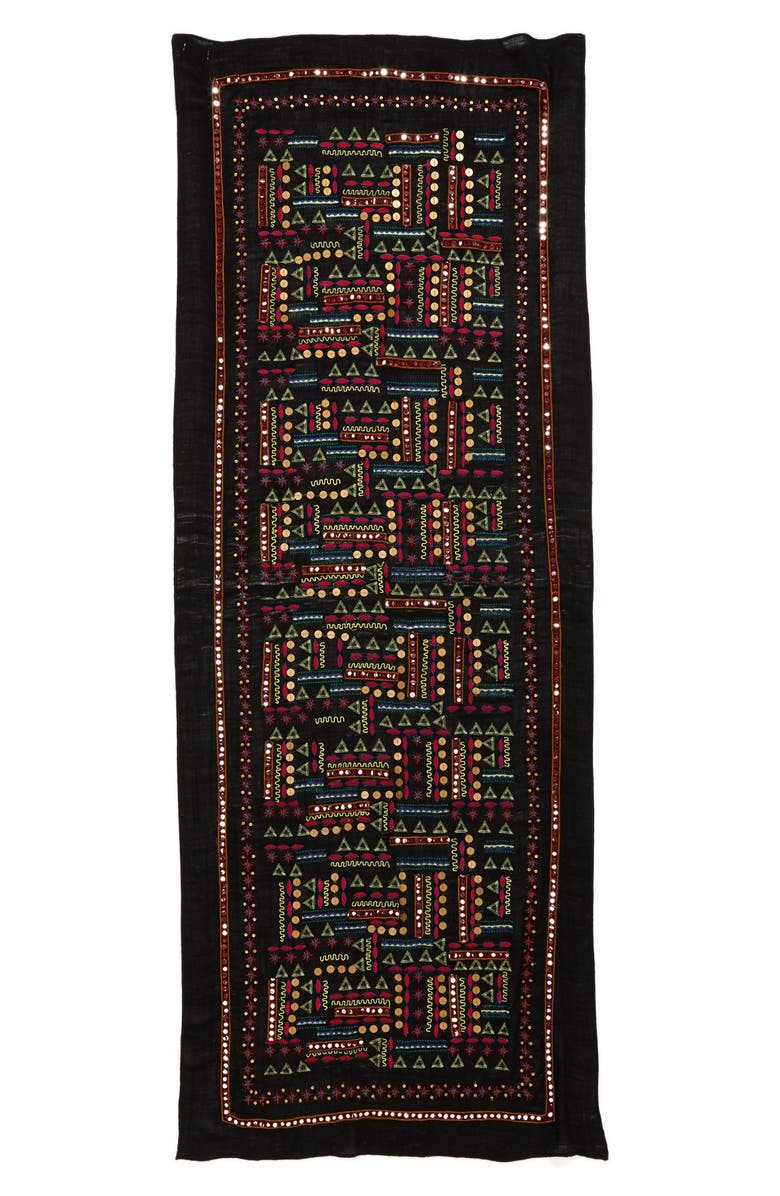 LUCKY BRAND Embellished Scarf, Main, color, 001