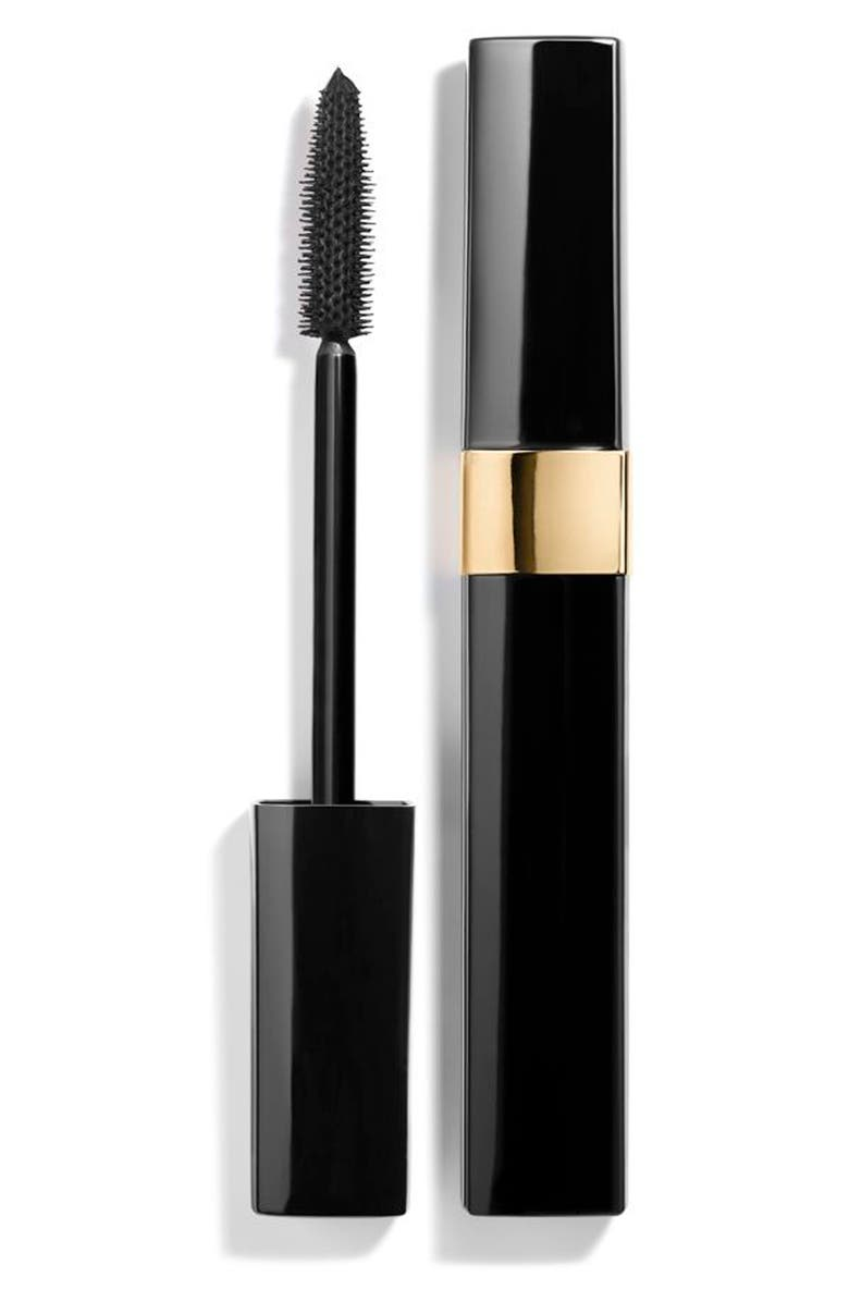 CHANEL INIMITABLE MASCARA Volume - Length - Curl - Separation, Main, color, 10 NOIR BLACK