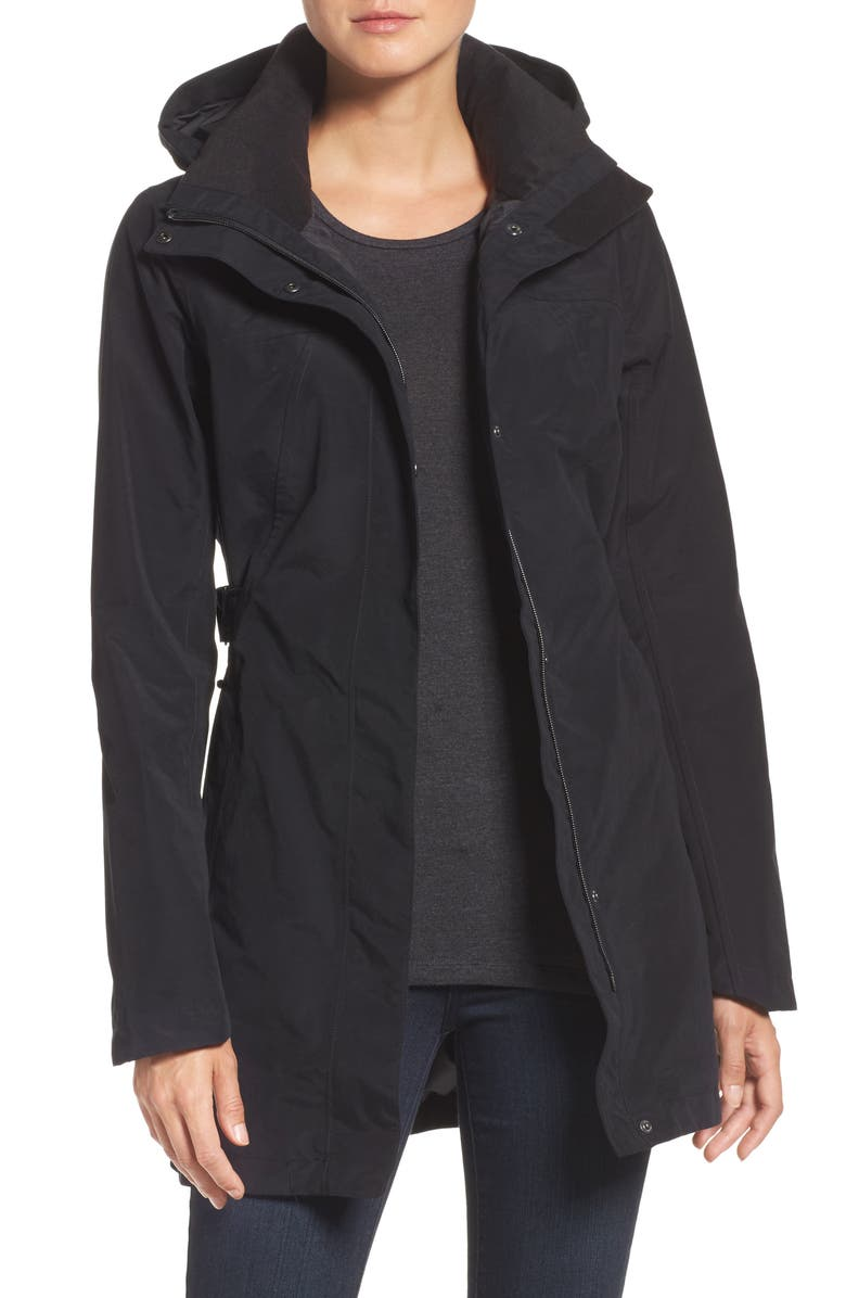THE NORTH FACE Laney II Trench Raincoat, Main, color, 001