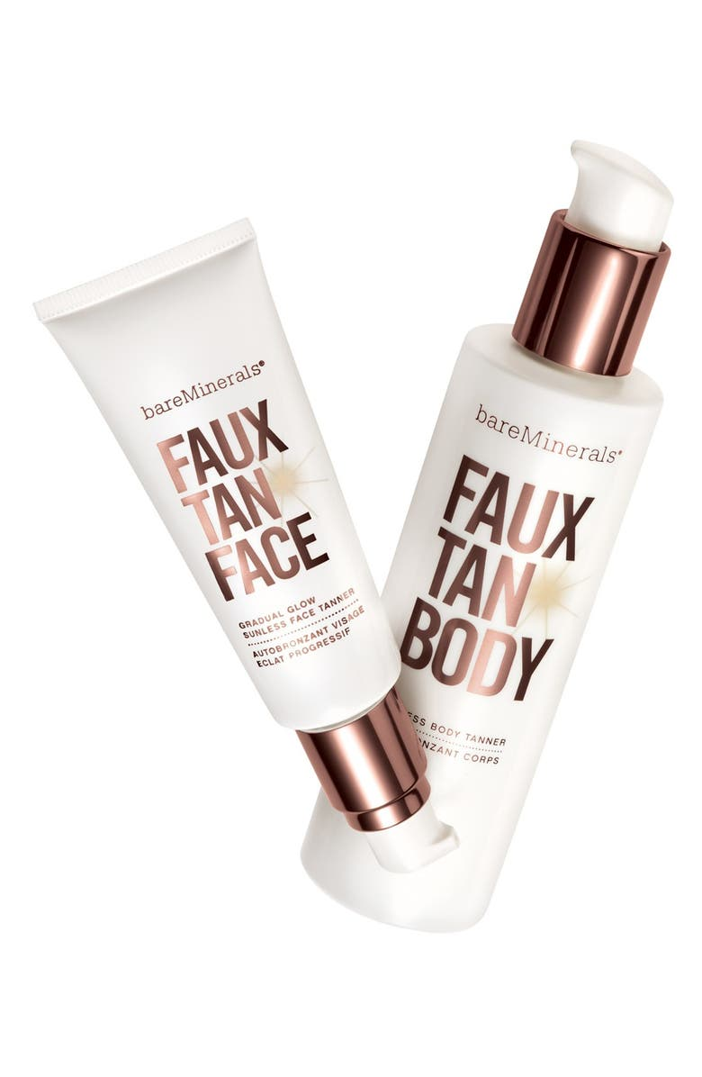 BAREMINERALS<SUP>®</SUP> 'Faux Tan' Sunless Tanner for Face, Main, color, 200