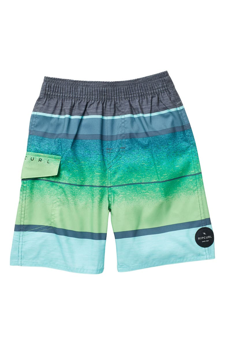 RIP CURL Clearwater Volley Shorts, Main, color, GRE