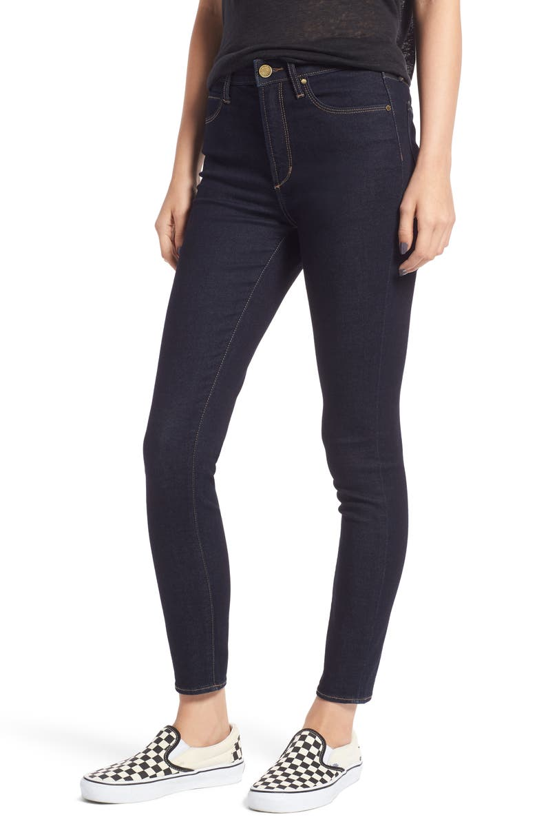 ARTICLES OF SOCIETY Heather High Waist Jeggings, Main, color, 401