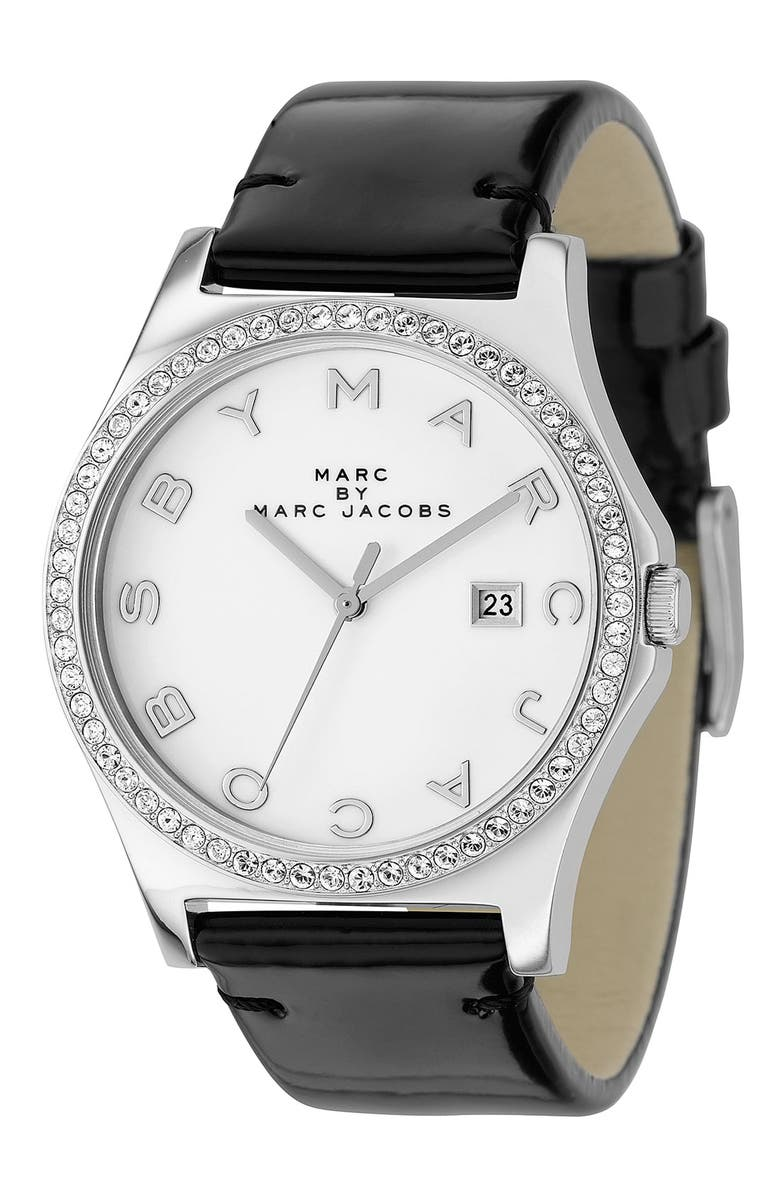 MARC JACOBS 'Henry' Stainless Steel Watch, Main, color, 001
