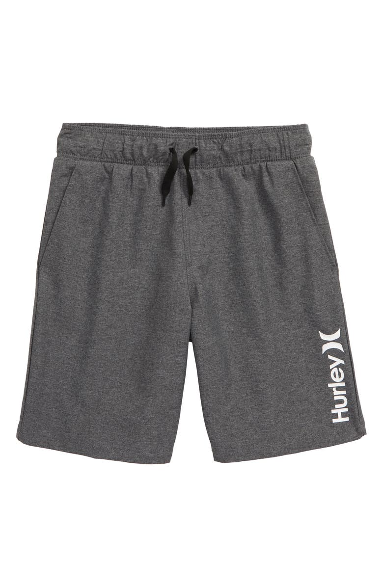 HURLEY Stretch Hybrid Shorts, Main, color, 009