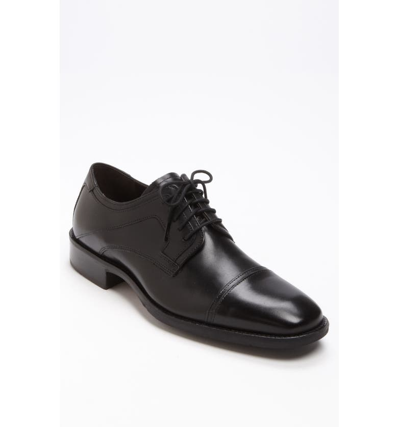 JOHNSTON & MURPHY 'Larsey' Cap Toe Derby, Main, color, 001