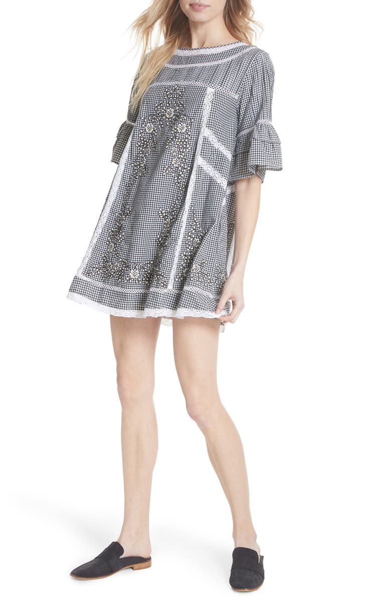 FREE PEOPLE Sunny Day Dress, Main, color, 001