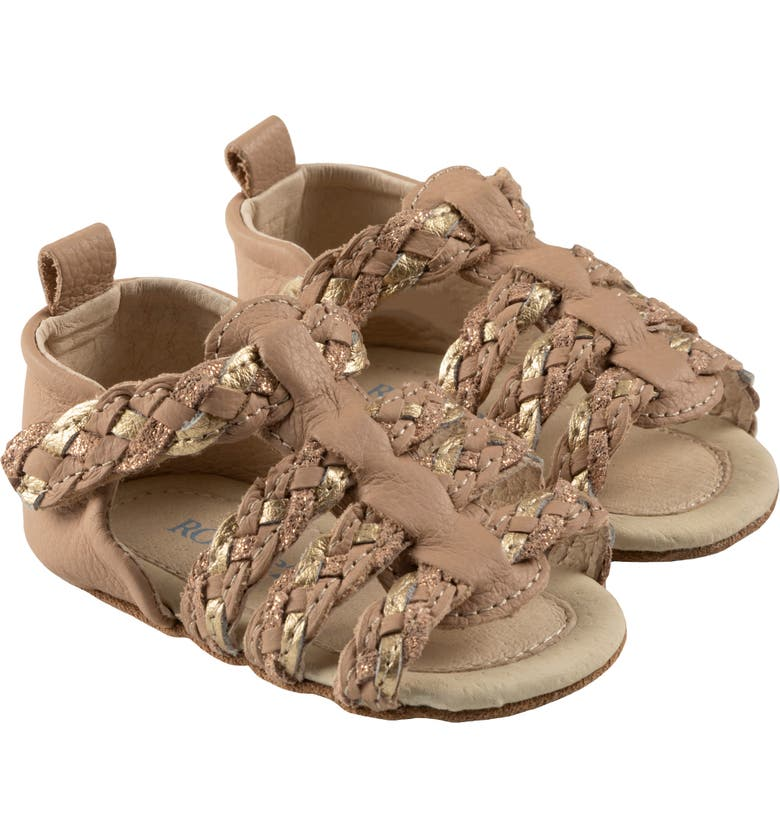 ROBEEZ Rae Sandals, Main, color, NUDE/ GOLD
