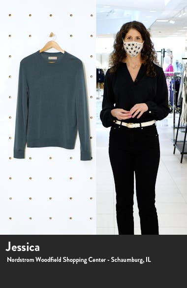 Cashmere Crewneck Sweater, sales video thumbnail