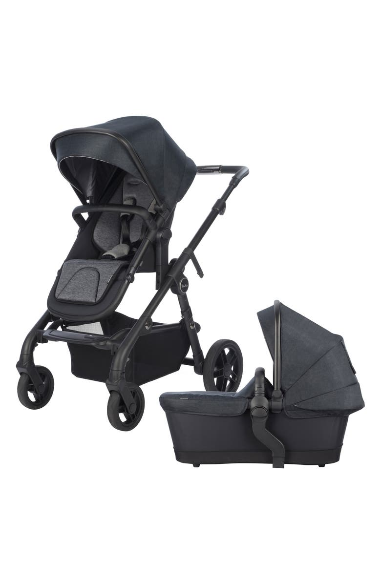 SILVER CROSS Coast Stroller & Bassinet Set, Main, color, FLINT