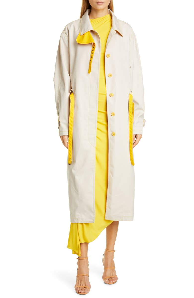 SIES MARJAN Lee Water Resistant Coated Twill Trench Coat, Main, color, 243