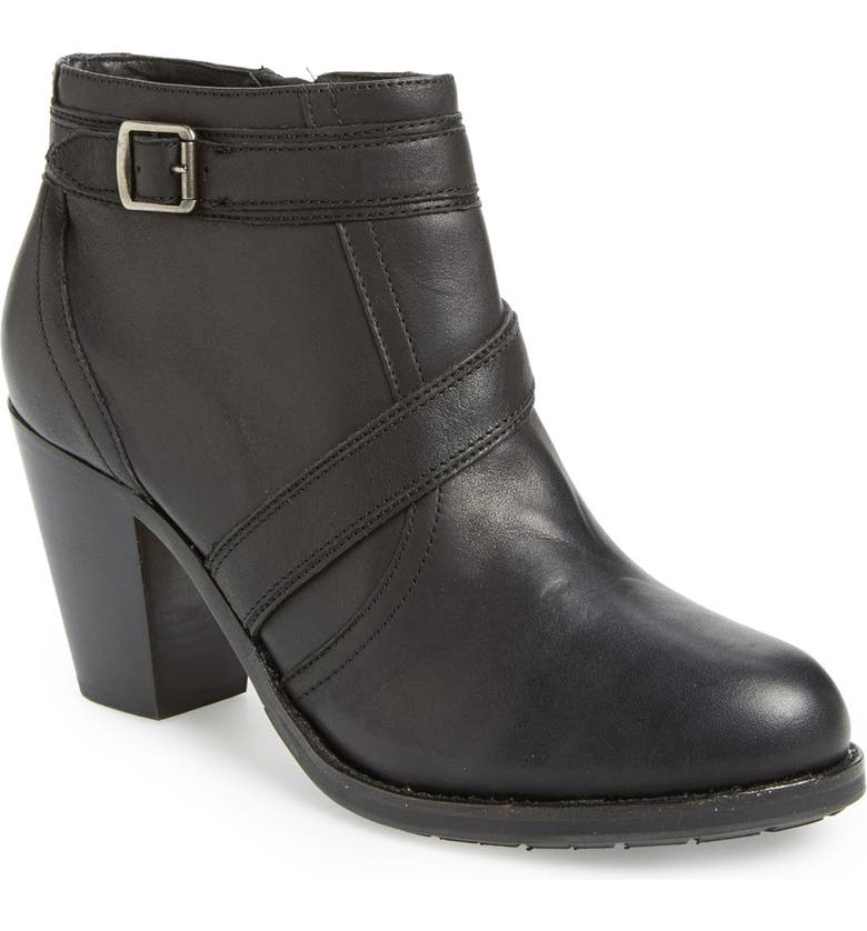 ARIAT 'Ready to Go' Ankle Boot, Main, color, BLACK ICONIC
