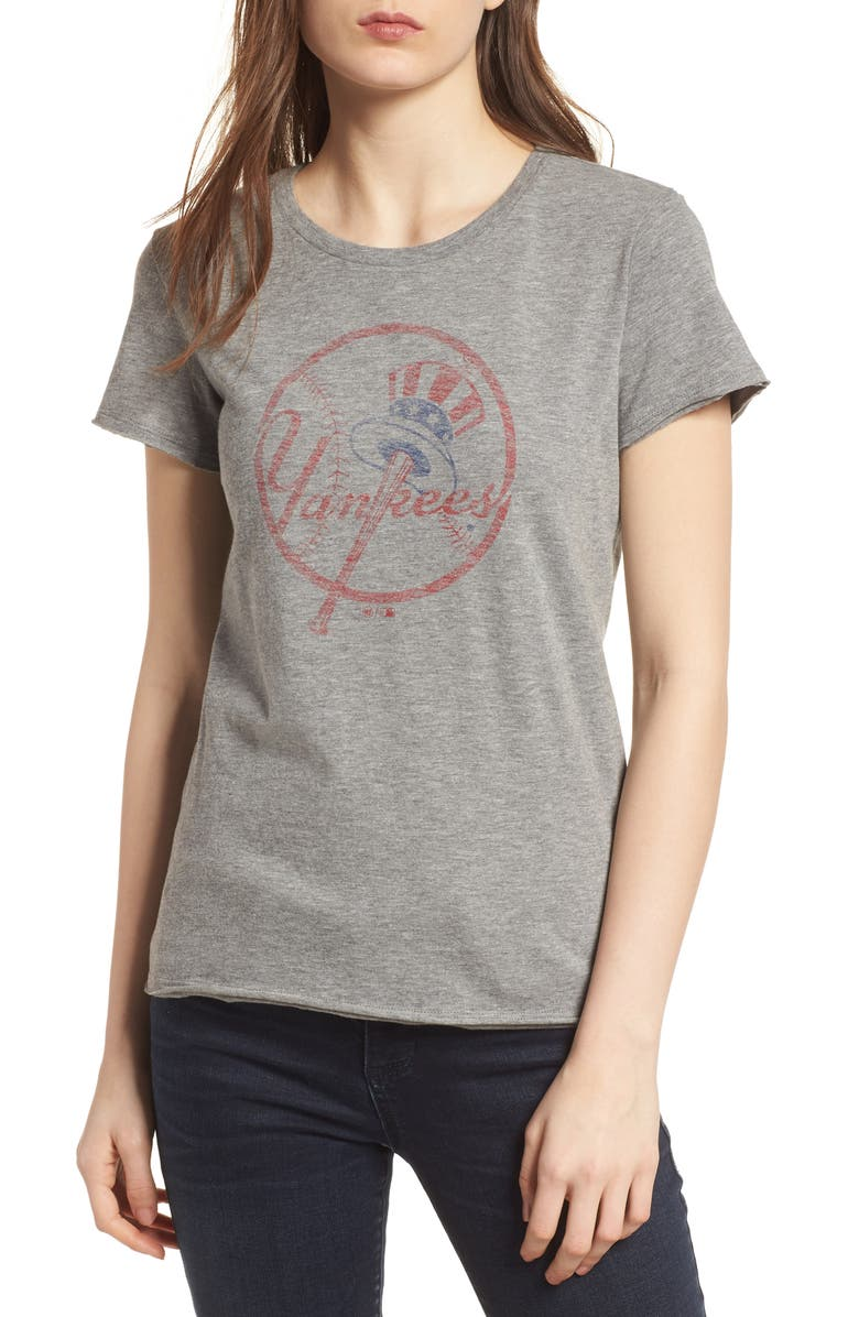 '47 New York Yankees Fader Letter Tee, Main, color, 021