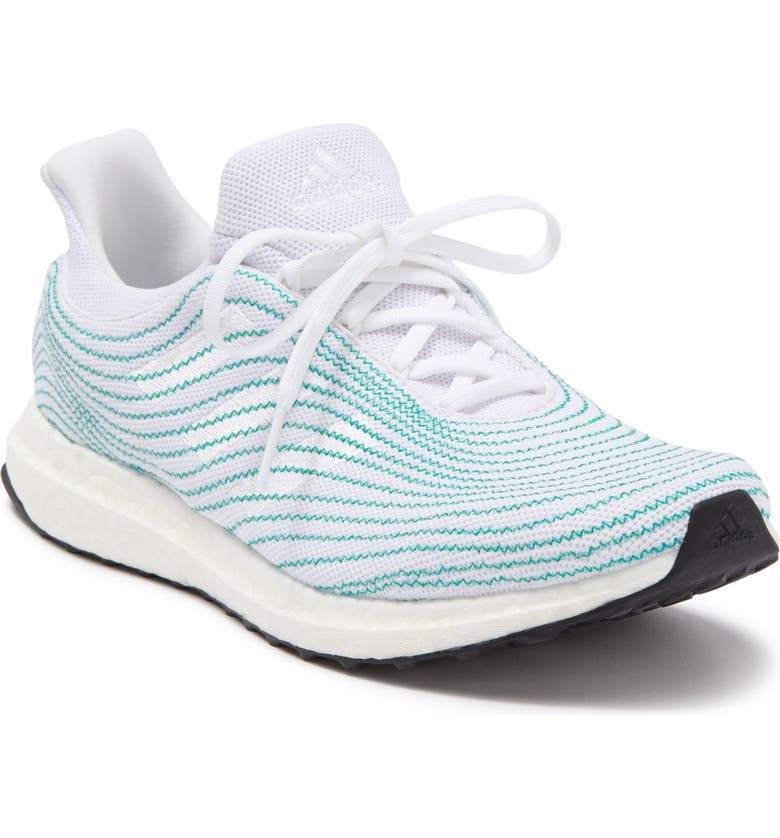 ADIDAS Ultraboost DNA Parley Athletic Sneaker, Main, color, FTWR WHITE