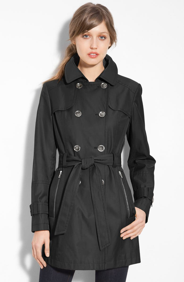 GALLERY Double Breasted Trench, Main, color, 001