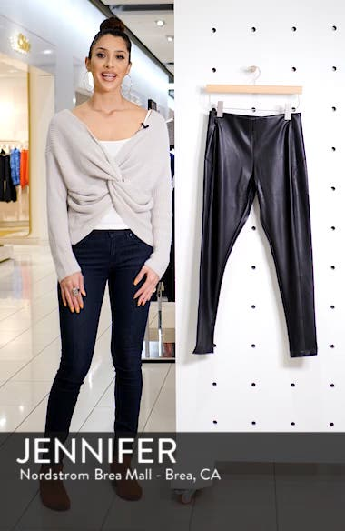 Faux Leather Leggings, sales video thumbnail
