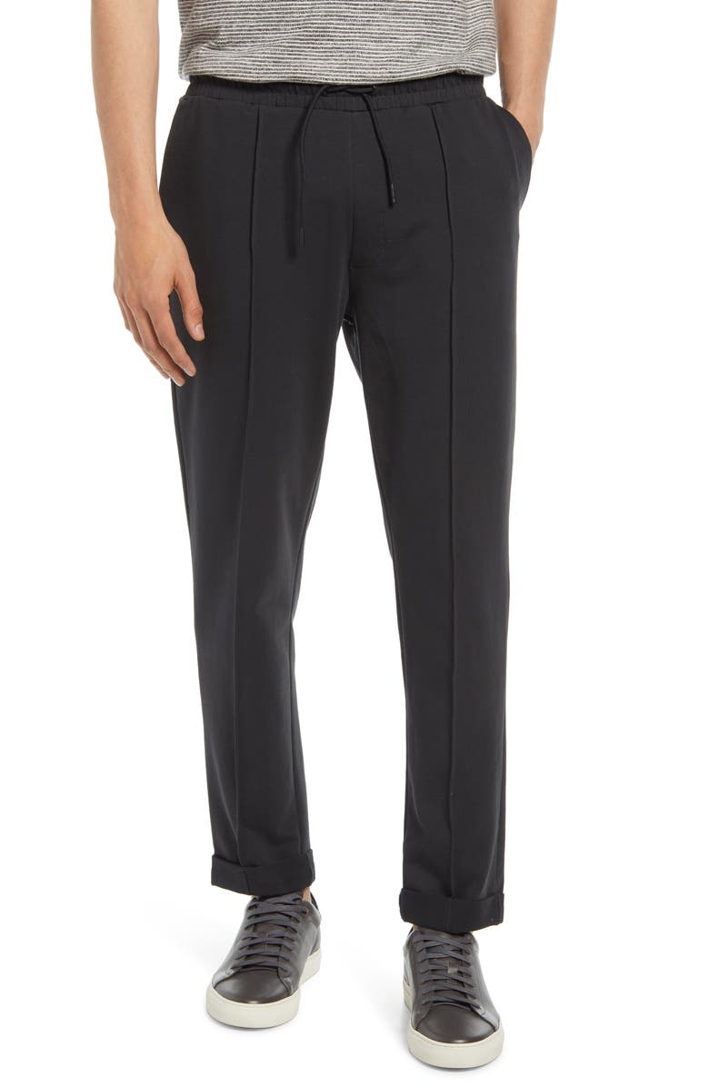 RICHER POORER Terry Drawstring Pants, Main, color, STRETCH LIMO