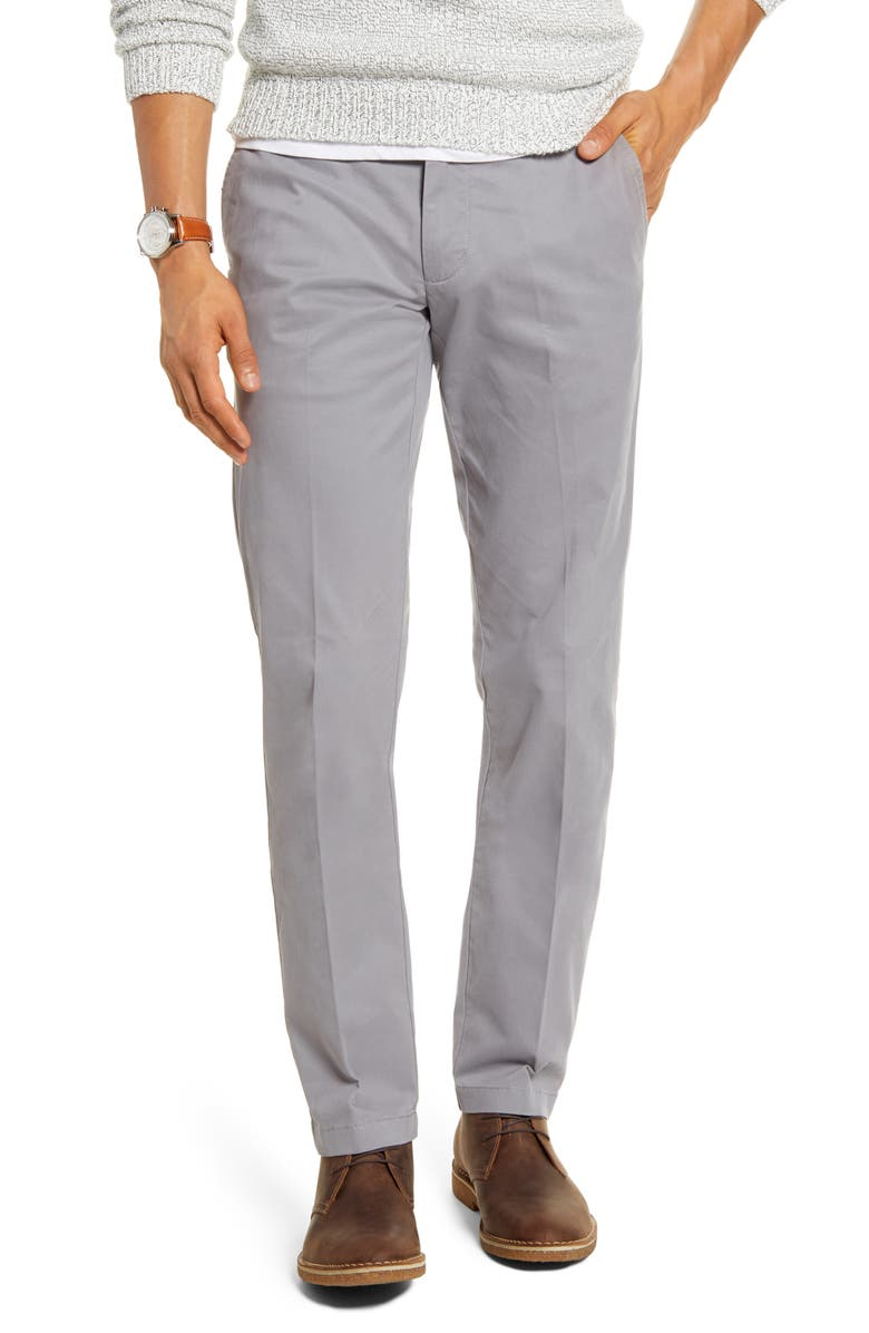 1901 Ballard Slim Fit Peached Twill Chino Pants, Main, color, 030