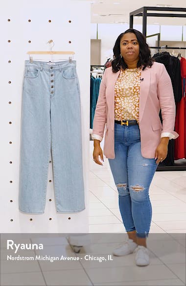 Olive High Waist Jeans, sales video thumbnail