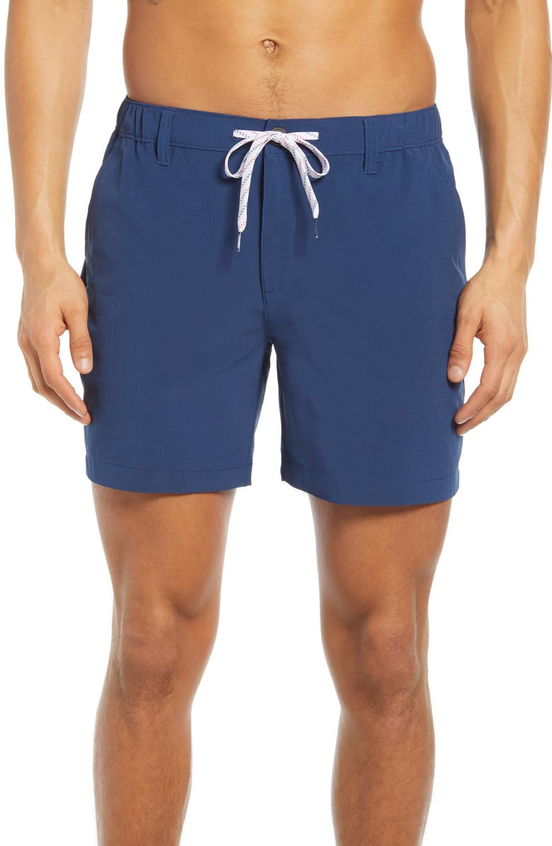 CHUBBIES The New Avenues Water Resistant Hybrid Shorts, Main, color, 411