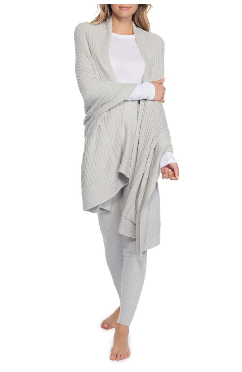 BAREFOOT DREAMS<SUP>®</SUP> CozyChic<sup>™</sup> Lite Travel Shawl, Main, color, 430