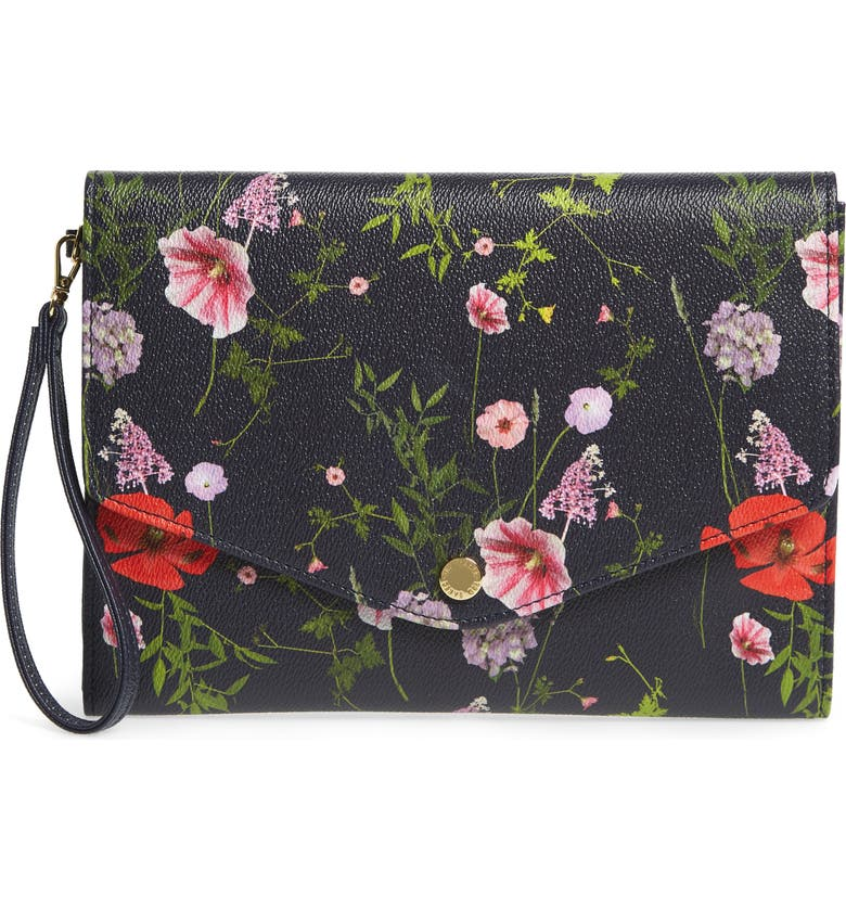 TED BAKER LONDON Gaia Hedgerow Envelope Pouch, Main, color, 400
