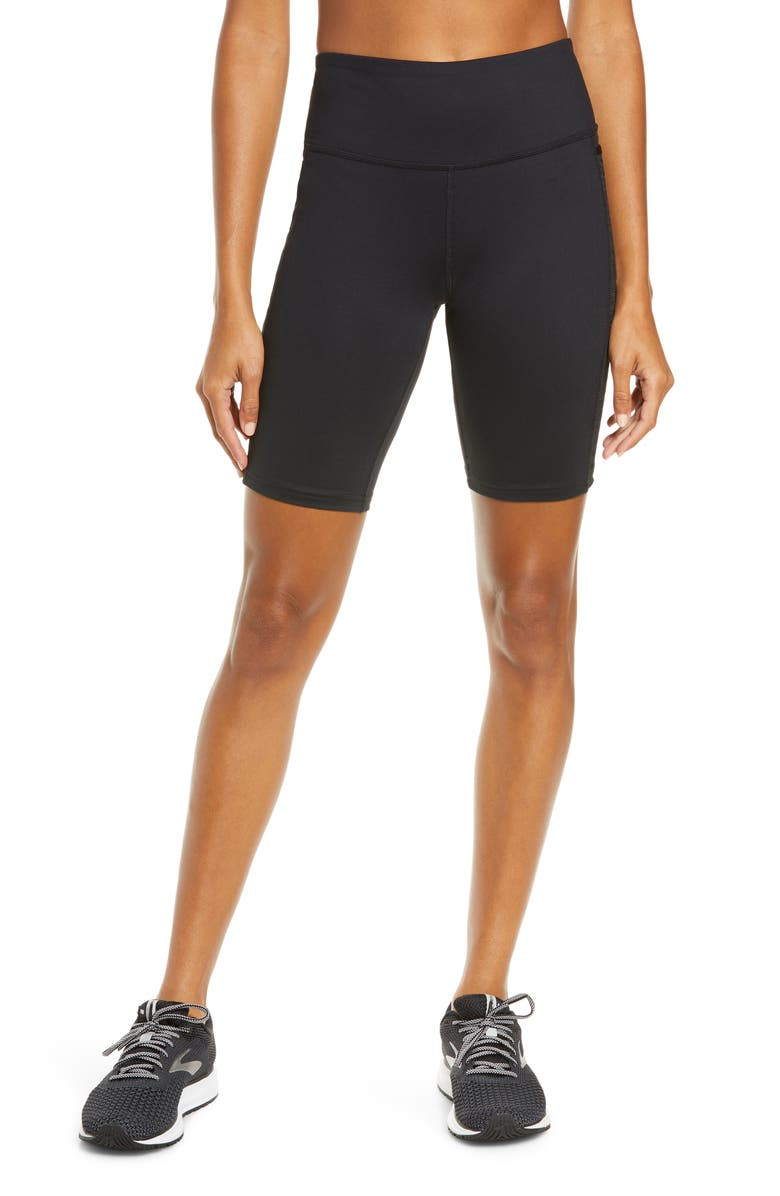 BROOKS Greenlight Essential Performance Shorts, Main, color, BLACK