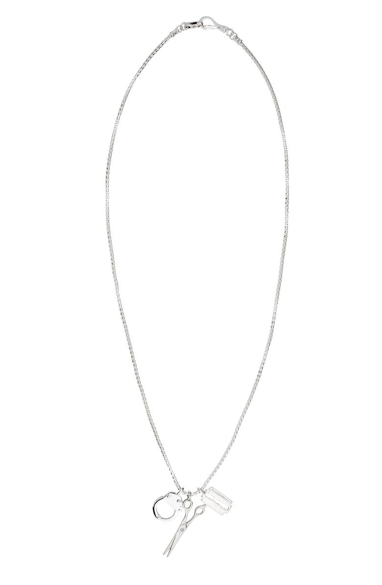 JONAS STUDIO Tri-Charm Necklace, Main, color, 040