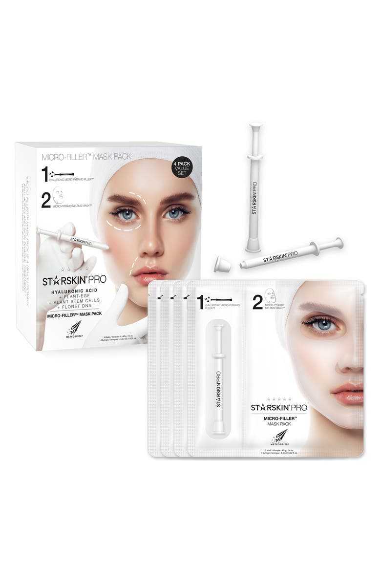 STARSKIN <sup>®</sup> PRO Micro-Filler Mask Pack, Main, color, 000