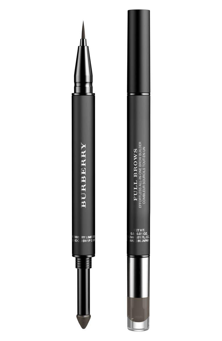 BURBERRY Beauty Full Brows Effortless All-in-One Brow Builder, Main, color, 001